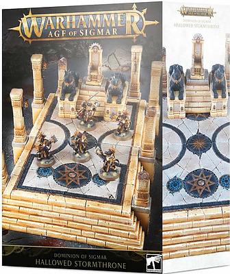 Einfach und sicher online bestellen: Dominion of Sigmar: Hallowed Stormthrone in Österreich kaufen.
