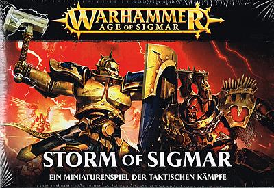 Einfach und sicher online bestellen: Warhammer: Age of Sigmar Storm of Sigmar in Österreich kaufen.