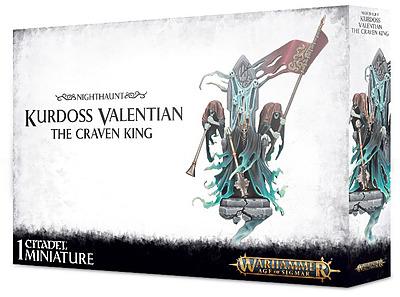 Einfach und sicher online bestellen: Kurdoss Valentian the Craven King in Österreich kaufen.