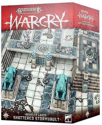 Einfach und sicher online bestellen: Warcry Shatterd Stormvault in Österreich kaufen.