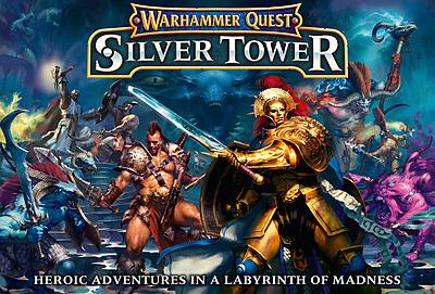 Einfach und sicher online bestellen: Warhammer Quest: Silver Tower in Österreich kaufen.