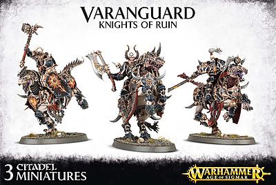 Einfach und sicher online bestellen: Warhammer: Everchosen Varanguard Knights in Österreich kaufen.