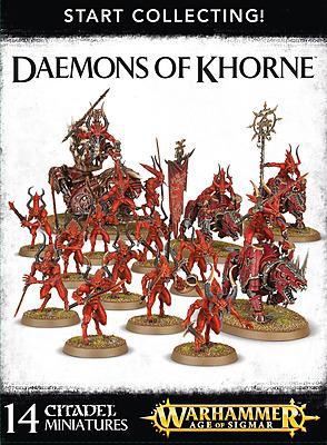 Einfach und sicher online bestellen: Warhammer: Start Collecting Daemons of Khorne in Österreich kaufen.