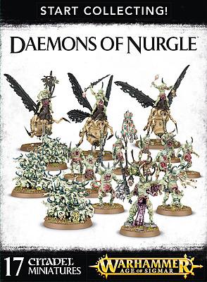 Einfach und sicher online bestellen: Warhammer: Start Collecting Daemons of Nurgle in Österreich kaufen.