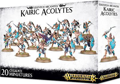 Einfach und sicher online bestellen: Warhammer: Tzeentch Arcanites Kairic Acolytes in Österreich kaufen.
