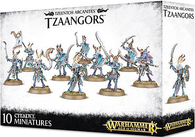 Einfach und sicher online bestellen: Warhammer: Tzeentch Arcanites Tzaangors in Österreich kaufen.