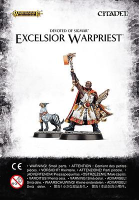 Einfach und sicher online bestellen: Warhammer: Devoted to Sigmar Excelsior Warpriest in Österreich kaufen.