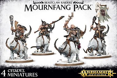 Einfach und sicher online bestellen: Warhammer: Beastclaw Raiders Mournfang Pack in Österreich kaufen.