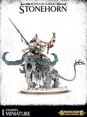 Einfach und sicher online bestellen: Warhammer: Beastclaw Raiders Stonehorn in Österreich kaufen.