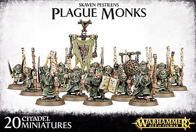 Einfach und sicher online bestellen: Warhammer: Skaven Pestilens Plague Monks in Österreich kaufen.