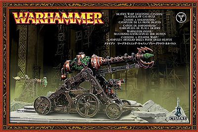 Einfach und sicher online bestellen: Warhammer: Warpblitzkanone/Seuchenklauenkatapult in Österreich kaufen.