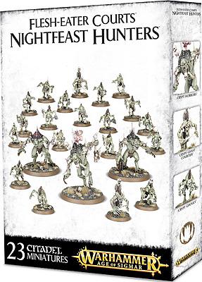 Einfach und sicher online bestellen: Warhammer: Flesh-Eater Courts Nightfeast Hunters in Österreich kaufen.