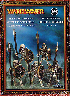 Einfach und sicher online bestellen: Warhammer: Skelettkrieger (Kleine Infanteriebox) in Österreich kaufen.