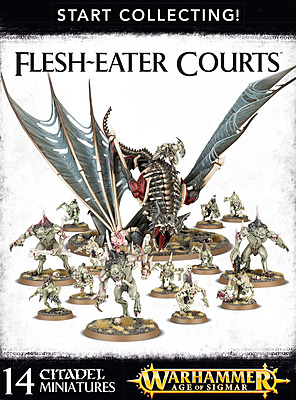 Einfach und sicher online bestellen: Warhammer: Start Collecting Flesh-Eater Courts in Österreich kaufen.