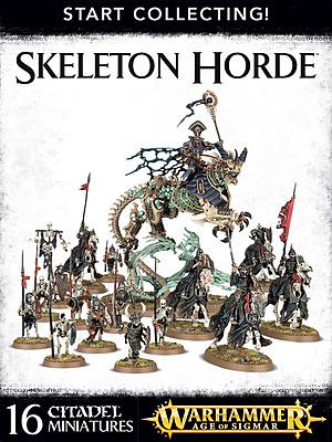 Einfach und sicher online bestellen: Warhammer: Start Collecting Skeleton Horde in Österreich kaufen.