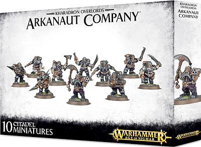 Einfach und sicher online bestellen: Warhammer: Kharadron Overlords Arkanaut Company in Österreich kaufen.
