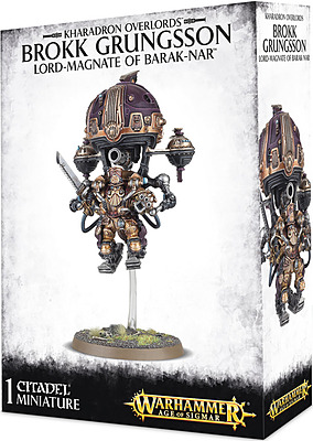 Einfach und sicher online bestellen: Warhammer: Brokk Grungsson Lord-Magnate Barak-Nar in Österreich kaufen.