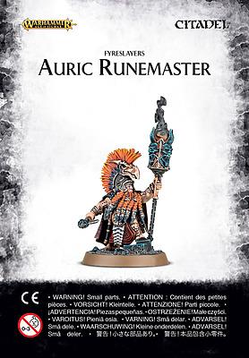 Einfach und sicher online bestellen: Warhammer: Fyreslayers Auric Runemaster in Österreich kaufen.