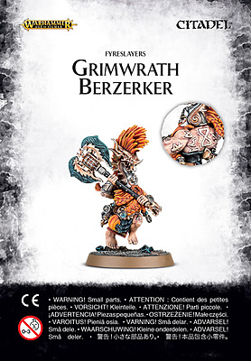 Einfach und sicher online bestellen: Warhammer: Fyreslayers Grimwrath Berzerker in Österreich kaufen.