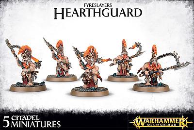 Einfach und sicher online bestellen: Warhammer: Fyreslayers Hearthguard in Österreich kaufen.