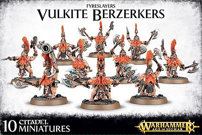 Einfach und sicher online bestellen: Warhammer: Fyreslayers Vulkite Berzerkers in Österreich kaufen.