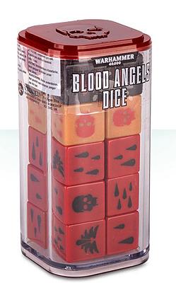 Einfach und sicher online bestellen: Warhammer 40.000: Blood Angels Dice in Österreich kaufen.