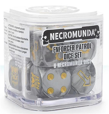 Einfach und sicher online bestellen: Necromunda Enforcer Patrol Dice Set in Österreich kaufen.