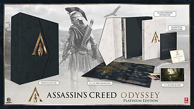 Einfach und sicher online bestellen: Assassin's Creed Odyssey Official Platinum Guide in Österreich kaufen.