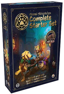 Einfach und sicher online bestellen: Animal Adventures RPG Starter Set in Österreich kaufen.