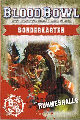 Einfach und sicher online bestellen: Blood Bowl Sonderkarten: Ruhmeshalle in Österreich kaufen.