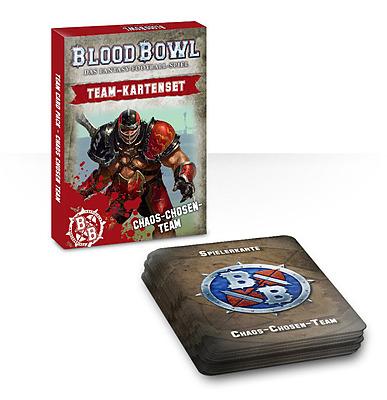 Einfach und sicher online bestellen: Blood Bowl Team-Kartenset Chaos-Chosen-Team in Österreich kaufen.