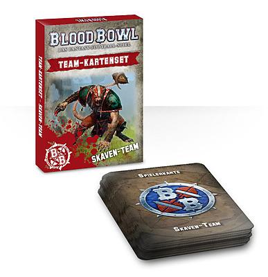 Einfach und sicher online bestellen: Blood Bowl Team-Kartenset Skaven in Österreich kaufen.