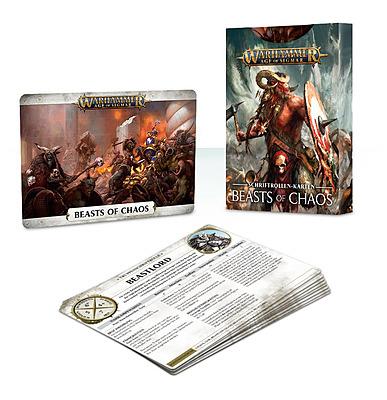 Einfach und sicher online bestellen: Warscroll Cards: Beasts of Chaos in Österreich kaufen.