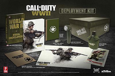 Einfach und sicher online bestellen: Call of Duty WWII Deluxe Uber Limited Edition in Österreich kaufen.