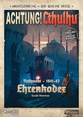 Einfach und sicher online bestellen: Achtung! Cthulhu - Ehrenkodex in Österreich kaufen.