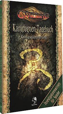 Einfach und sicher online bestellen: Cthulhu: Königsdämmerung - Tagebuch für Spieler in Österreich kaufen.