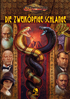 Einfach und sicher online bestellen: Pulp Cthulhu Die Zweiköpfige Schlange in Österreich kaufen.
