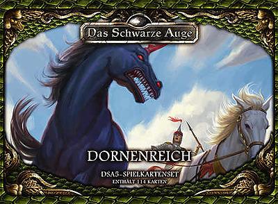 Einfach und sicher online bestellen: DSA5: Spielkartenset Das Dornenreich in Österreich kaufen.