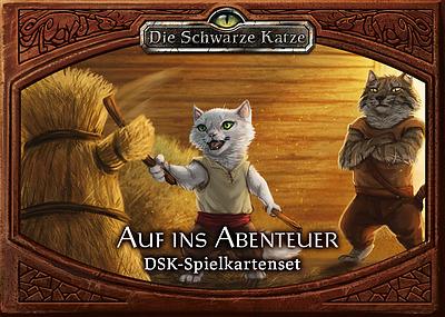 Einfach und sicher online bestellen: Die Schwarze Katze Auf ins Abenteuer Kartenset in Österreich kaufen.