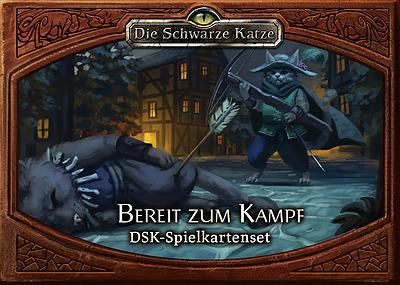 Einfach und sicher online bestellen: Die Schwarze Katze Bereit zum Kampf Spielkartenset in Österreich kaufen.