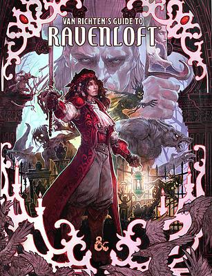 Einfach und sicher online bestellen: Van Richten's Guide to Ravenloft Alt Cover in Österreich kaufen.