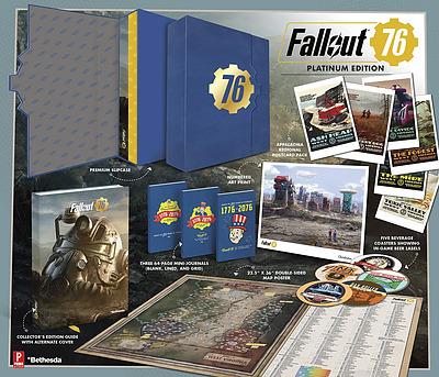 Einfach und sicher online bestellen: Fallout 76 Platinum Edition Guide in Österreich kaufen.