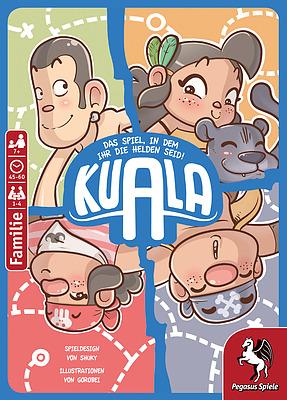 Einfach und sicher online bestellen: Spiele-Comic: Kuala in Österreich kaufen.