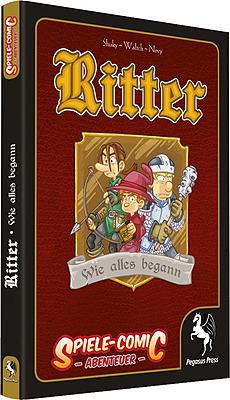 Einfach und sicher online bestellen: Spiele-Comic Abenteuer: Ritter #1 Wie alles begann in Österreich kaufen.