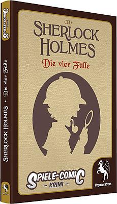 Einfach und sicher online bestellen: Spiele-Comic Krimi: Sherlock Holmes #1 4 Fälle in Österreich kaufen.
