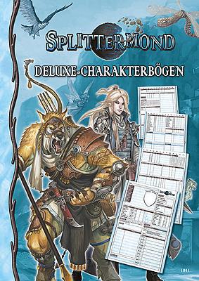 Einfach und sicher online bestellen: Splittermond: Deluxe-Charakterbögen in Österreich kaufen.