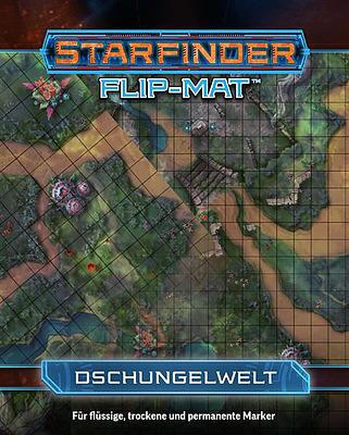 Einfach und sicher online bestellen: Starfinder Flip-Mat: Dschungelplanet in Österreich kaufen.