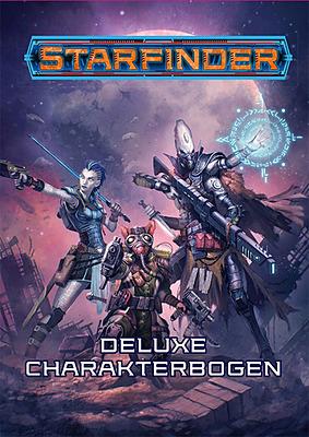Einfach und sicher online bestellen: Starfinder: Deluxe Charakterbogen in Österreich kaufen.