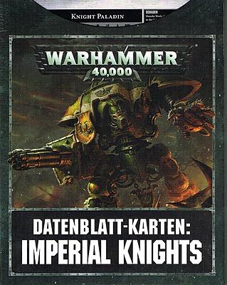 Einfach und sicher online bestellen: Warhammer 40.000 Imperial Knights Datenblattkarten in Österreich kaufen.