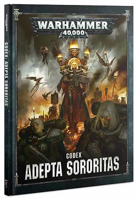 Einfach und sicher online bestellen: Warhammer 40.000 Codex Adeptus Sororitas in Österreich kaufen.